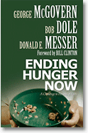 Ending Hunger Now book cover